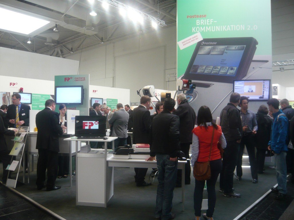 Viel los bei FP in Halle 3, Stand D08